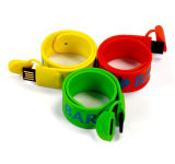 Silicone Wrist Band USB Flash Drive