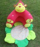 カスタムプラシ天の水泳のシートの赤ん坊のプラシ天の膨脹可能なおもちゃ