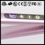 Pearly White Touch Switch Us Plug cETL Hair Straighten Iron (V185)