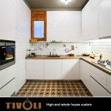 Modernes weißes hölzernes Großhandelslandhaus-vollständige Hauptküche-Möbel Tivo-0082VW