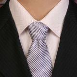 A garganta tecida seda da etiqueta confidencial 100% amarra homens