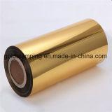 Het gouden Zilveren Broodje van het Document van de Aluminiumfolie van de Verpakking van de Kleur