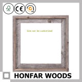 Стоящая естественная деревянная картинная рамка для украшения