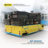 100t重負荷の電池によってモーターを備えられる無軌道のカートの物質的な移動車