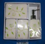선물 상자 패킹으로 놓이는 4PCS 백운석 (세라믹) 목욕