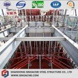 Marco pesado de la estructura de acero para la planta industrial
