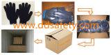 2017 Ddsafety голубой ПВХ пунктирной безопасности хлопок перчатки