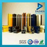 Het aangepaste Profiel van de Uitdrijving van het Aluminium van de Deur van het Venster met Verschillende Kleuren
