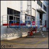 Plataforma de trabalho de escalada do mastro aprovado do ISO