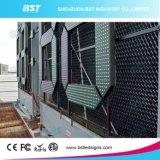 """64 """" 시간 또는 온도 전시를 위한 높은 광도 엄청나게 크거나 거대한 옥외 방수 LED 시계 표시"""