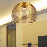 Цены от питания алюминиевый люстра подвесной светильник для украшения для установки внутри помещений