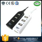 La petite rangée a inséré l'avantage expédié mini USB 2.0hub d'Usbhub USB par usine des prix du diviseur à quatre orifices