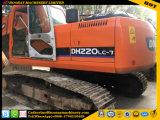 Excavador usado 220LC-7, excavador caliente usado 220LC-7 de la rueda de Doosan de la rueda