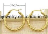 El mejor pendiente de la joyería del acero inoxidable de la joyería del precio de la alta calidad (ERS6952)
