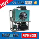 máquina de hielo del tubo 1t/24hrs pequeña con el rectángulo especial de la cubierta