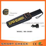 Rivelatore tenuto in mano portatile dello scanner del corpo del metal detector con la batteria ricaricabile