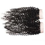 La peluca brasileña del cordón del pelo humano de la Virgen/ata por completo la peluca/la peluca delantera del cordón