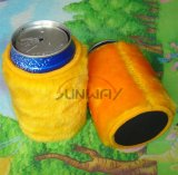 Le néoprène peut refroidisseur, support tronqué de bière, le refroidisseur tronqué pelucheux (BC0008)