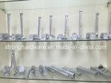 Ferme-porte en verre de Frameless de bonne qualité/fer