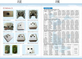 5-2400MHz TV+FM+Sat 벽면 소켓 (SHJ-TWS013)