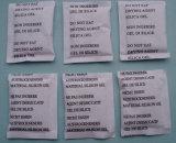 2g de gel de sílice desecante de la bolsa de papel recubierto con 4 Lanuages Impresión, libre de cloruro de cobalto, DMF libre