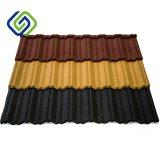 Tuiles de toit enduites en métal de couleur de Brown