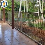 Frontière de sécurité en aluminium de syndicat de prix ferme de frontière de sécurité de jardin de frontière de sécurité de Decoratived avec la coutume