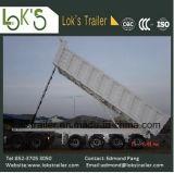 трейлер Tipper отхода почвы Axles 45cbm 4