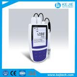 実験室装置か携帯用水伝導性または塩分のメートルまたは水道メーター