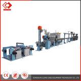 O PVC/XLPE/Nylon Cabo Eléctrico personalizados de linha de produção de fio máquina de extrusão de cabo