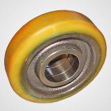 ポリウレタン鉄心の車輪