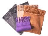 Sjaal van de Kleur van het Kasjmier van 100% de Stevige (va-1006)