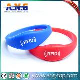 Браслет Wristband RFID силикона Ntag216 NFC для E-Компенсации