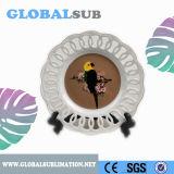 Placas de cerámica blancas de Encaving de la mejor sublimación del regalo