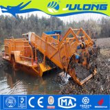 China Cosechadora de maleza acuática y Barco Barco de corte de malezas y basura flotante barco de salvamento para la venta