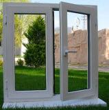 두 배 창유리 UPVC 여닫이 창 Windows