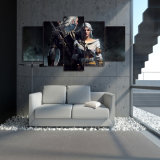 HD imprimió el Witcher Geralt y la pintura de Ciri en la lona Mc-081 del cuadro del cartel de la impresión de la decoración del sitio de la lona