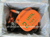 Catena di sollevamento saldata incatramata di G80 Blcak per Hosit Chain