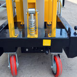 Doppeltes bemastet Luftarbeit-Plattform-maximale Höhe der Plattform (14m)