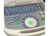Scanner de ultra-sons com correção de gama