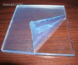 Feuille acrylique transparente en plastique