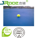Schok-absorptie RubberTennisbaan met de Oppervlakte van de Sport van de Deklaag Spu