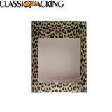 El papel de la moda de papel de tabla y cuadro de gafas de escaparate PVC Pantalla de impresión