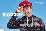 Norwegische Baumwollkursteilnehmer-Staffelung-Schutzkappe mit ursprünglichem Russelue Entwurf