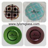 Différentes couleurs des plaques de verre métallique de gros show par verre Tylors