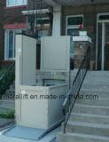 Elevador de silla de ruedas en casa con elevación segura