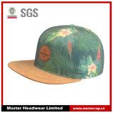 Chapéu do Snapback da impressão do Sublimation com viseira da camurça