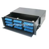 """19"""" 3 U para montagem em rack Sc 72 portas Fiber Optic Patch de instrumentos"""