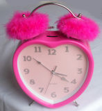 Festival Big Twin cadeau Bell Alarm Clock (KV3001)