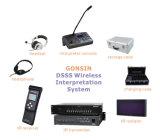 O sistema de tradução simultânea de infravermelho Gonsin (TC-904/ 906)